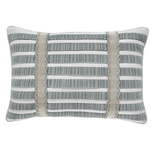 Eleyana 100% Cotton Boudoir Pillow by Croscill Home Fashions